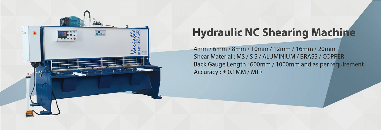 Hydraulic NC Shearing Machine